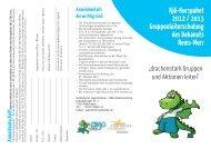 KjG-Kurspaket 2012 / 2013 Gruppenleiterschulung des Dekanats ...