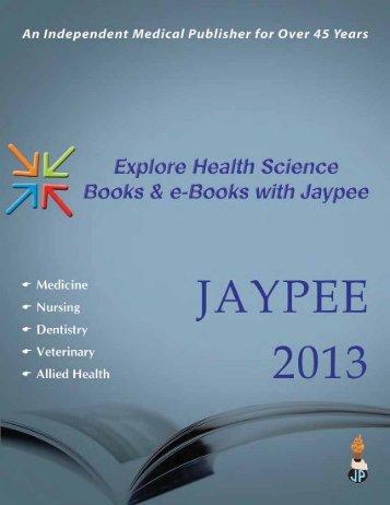 JAYPEE Medical 2013 - McGraw-Hill Books