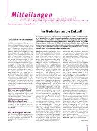 Mitteilungen Dezember 07 - Anthroposophische Gesellschaft in ...