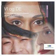 VI og DE - en håndbok om kommunikasjon på tvers av kulturer - UDI