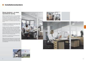 Installationsstandere - Wexøe.dk