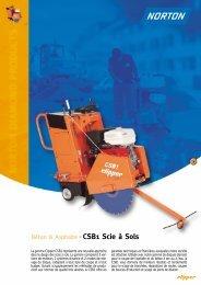 Béton & Asphalte CSB1 Scie à Sols - Norton Construction Products