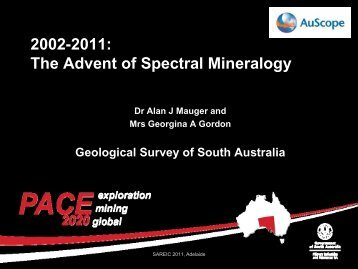 2002-2011: The Advent of Spectral Mineralogy - PIRSA