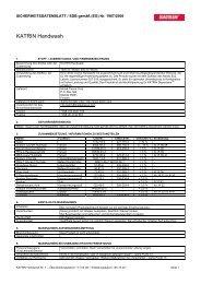 Sicherheitsdatenblatt - Mercateo