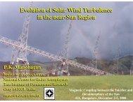 Evolution of Solar Wind Turbulence in the near-Sun Region ...