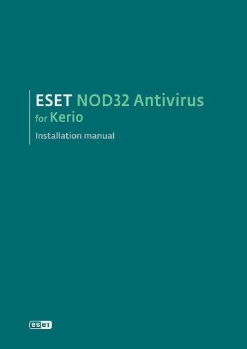 ESET NOD32 Antivirus for Kerio - NOD32 - Eset