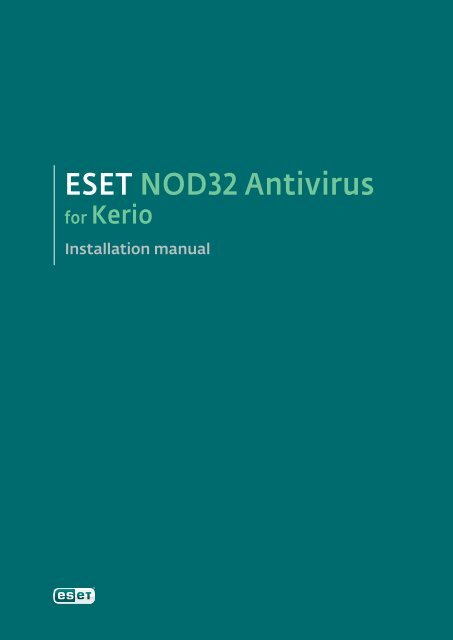 ESET NOD32 Antivirus for Kerio - NOD32 - Eset