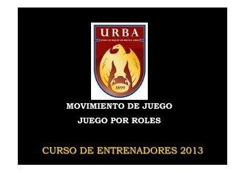 CER Movimiento de juego. juego por roles - URBA