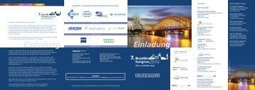 Ausführliches Programm und Anmeldung - (CIO) Köln Bonn