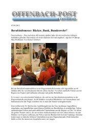 Berufsinfomesse: Bäcker, Bank, Bundeswehr? - Jugendbüro Neu ...