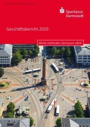 Geschäftsjahr 2010 - Sparkasse Darmstadt