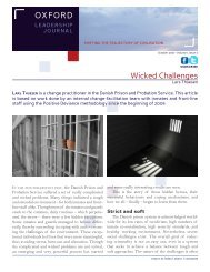 Wicked Challenges - Positive Deviance Initiative