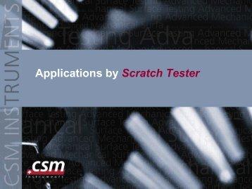 Hard ceramic coatings (1-5um thick) - CSM Instruments