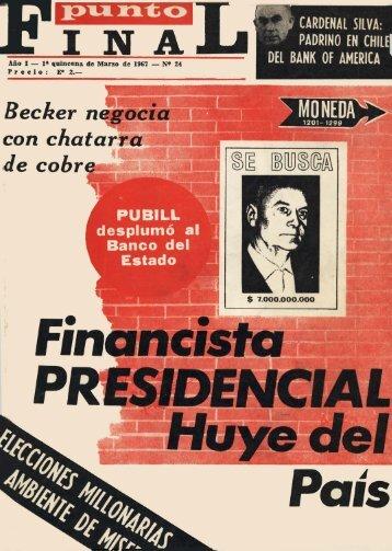 Revista - Punto Final - archivo historico