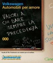 000 Volkswagen Automobili per amore - Superbrands.it