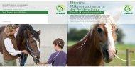 Effektive Mikroorganismen in der Pferdehaltung - Multikraft