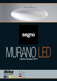MURANO LED 2013 - Relco Group