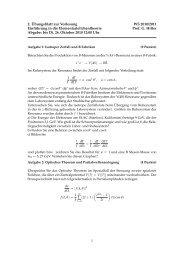 2. ¨Ubungsblatt zur Vorlesung WS 2010/2011 Einf ... - TU Dortmund