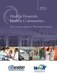 Wisconsin Hospital Economic Impact Report