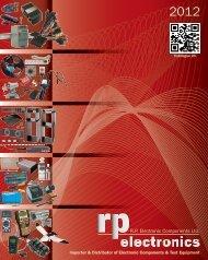 Download NEW Catalogue Now! (64.6M pdf) - RP Electronics
