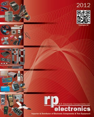 Download NEW Catalogue Now! (64.6M pdf) - RP Electronics