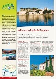 Natur und Kultur in der Provence - Wikinger Reisen GmbH