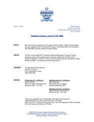 Calendar Listing – July 11th-12th 2008 WHO - Fort Lauderdale ...