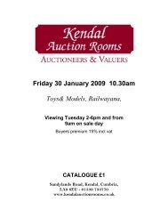 Friday 30 January 2009 10.30am Toys& Models ... - 1818 Auctioneers