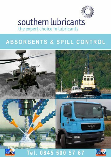 Fentex Spill Resource Catalogue - Southern Lubricants