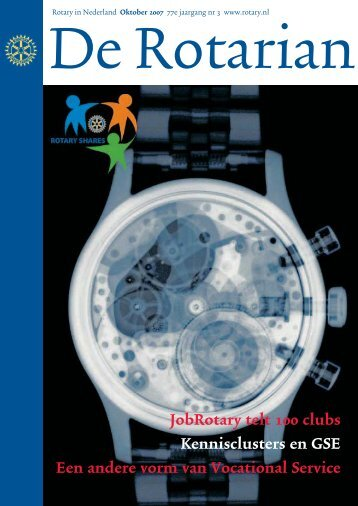JobRotary telt 100 clubs Kennisclusters en GSE ... - Rotary Nederland