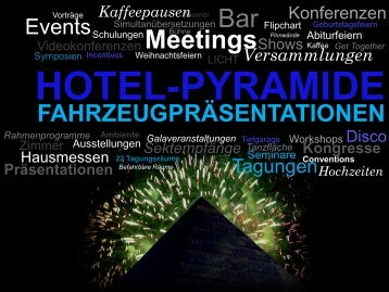 Päsentations-Mappe zum Download - Hotel Pyramide