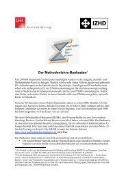 Der Methodenlehre-Baukasten1 - ZHW - Universität Hamburg