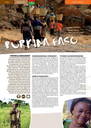 Burkina Faso - STA Travel