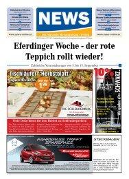 Eferdinger Woche - der rote Teppich rollt wieder! - NEWS-ONLINE.at