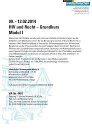 HIV und Recht Modul I 02-2014.pdf - Deutsche Aids-Hilfe e.V.