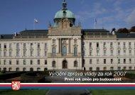 Výroční zpráva vlády za rok 2007 - Ministerstvo práce a sociálních věcí