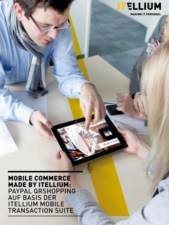 MOBILE COMMERCE MADE BY ITELLIUM: PAYPAL QRSHOPPING ...