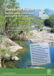Townsville Region National parks, conservation parks and State ...