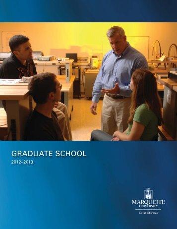 PDF Version - Marquette University Bulletin