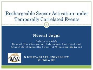 Neeraj Jaggi - Witchita State University - Wichita State University