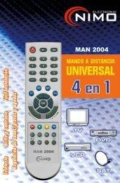 Users manual for MAN2004 - Molgar