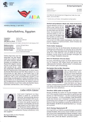 Aida Heute - Elke & Joachim Gerhard