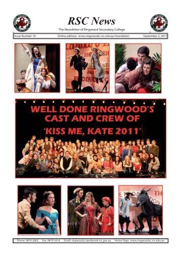 RSC News - Ringwood Secondary College