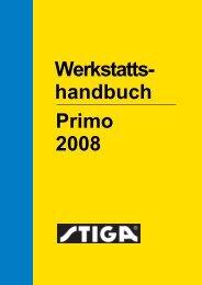 Werkstatts- Primo 2008 handbuch