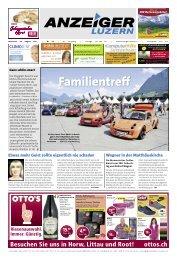 Anzeiger Luzern, Ausgabe 34, 28. August 2013