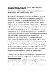 Download John K.Waltons's presentation - University of Westminster