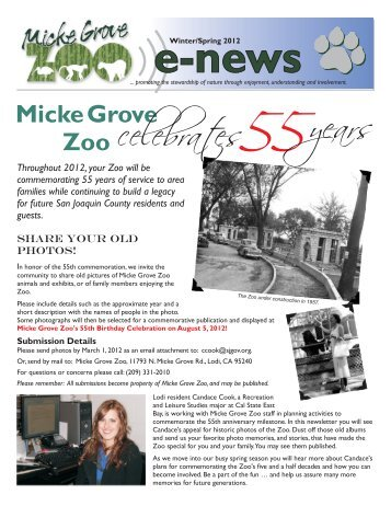 Wild Birthday Parties at Micke Grove Zoo