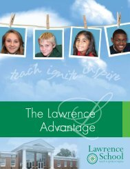 Download the Lawrence School Viewbook