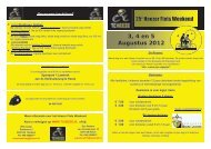 3, 4 en 5 Augustus 2012 25e Heezer Fiets Weekend