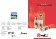 Catálogo grupos magnéticos - Orkli